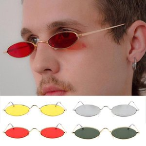 Retro Round Sunglasses For Women Men Small Oval Alloy Frame Summer Style Unisex Sun Glasses Female Male BerXr