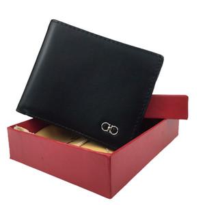 designer de moda europeus e americanos homens moeda de luxo bolsa de cartão de crédito bolso carteira pacote de cartões de banco do negócio de cartão de couro ID aa dos homens