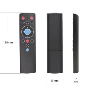 T1 صوت عن بعد اللعب تحكم 2.4G ماوس الهواء G10 الجيروسكوب لجوجل نيتفليكس يوتيوب Tx6 T95 ماكس Q زائد X88 برو A95X F2 تلفزيون صندوق