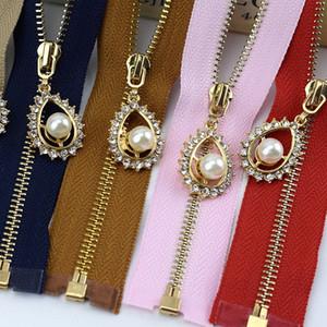 2pcs Meetee 3 # Fermeture éclair en métal 40cm 50cm 60cm 70cm Open End Zip pour la couture des sacs Vêtements Zippers Accessoires à coudre