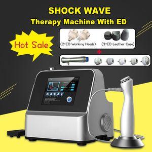 Máquina da onda de Shockwave da perda de peso do emagrecimento do corpo da deficiência orgânica de SW5S / sistema da terapia da dor Máquina da beleza do salão de beleza dos termas da onda de choque