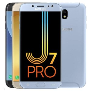 Original Samsung Galaxy J7 Pro 2017 Refurbished J730F 5,5 Zoll Octa-Core 3 GB RAM 32 GB ROM 13MP 4G LTE Android-Handy Freies DHL 1PC