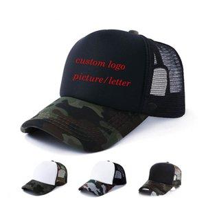 toptan Baskı İçin yetişkin net kapaklar Patchwork kamuflaj eğitim Summer Sun Şapka Beyzbol şapkaları