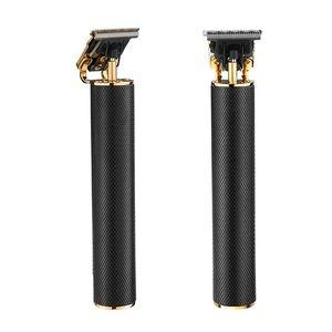 AL-Men Hotsell novo cabelo clipper carga USB forma de cilindro cabelo elétrico cortador portátil pequeno aparador de barba cabelo clipper amazon