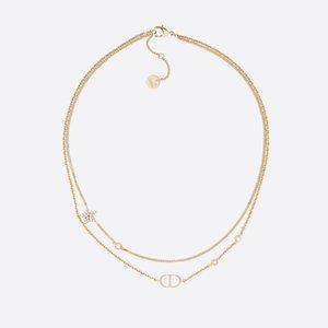 Lüks Tasarımcı Kolye YENİ D harfi C kolye Yeni Elmas İnci Meydanı marka elmas çeşitli CC tarzı takı