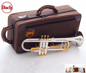 2019 New Trumpet Original High quality Trumpet LT180S 72 silver Plated Musical instruments Super Professional performance Free shipping