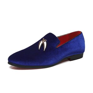 2020 New Fashion Handmade Breathable Comfortable Men Leather Casual Shoes Slip On Man Wedding Loafers Male Flats Size US 5-11.5