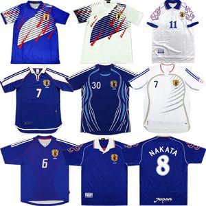 2006 Retro Japon NAKATA Soccer Jersey 1994 1998 2000 2002 SOMA AKITA OKANO KAWAGUCHI retour au football chemise KAZU HATTORI ancien maillot manches courtes