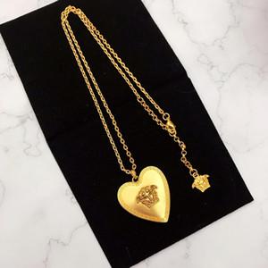 designer di gioielli cuore collana moda stilista copricapo americane personalizzate ciondolo amore galvanica europea e americana