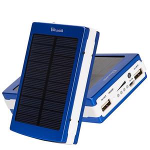 Telefone Solar Power Bank célula solar Fácil muito estável Charger carry O consumo de energia para o Bank USB charing 6000mAh externo Para Bateria