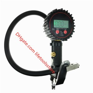 Digital tire tester car tire meter 200PSI LCD Display Air Compressor Pump Quick Connect Coupler For Car Truck Motorcycle