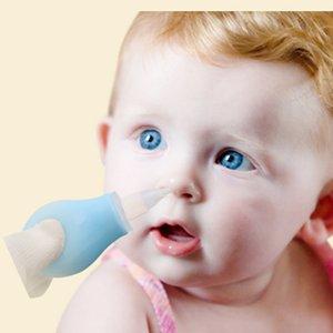 Manuel silicone nasal aspirateur nasal d'aspiration nasale Pompe bébé aspiration appareil froid Nez outil de nettoyage
