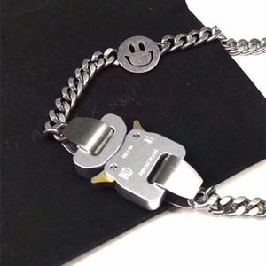 цепь Hero Аликс STUDIO Металлические цепи ожерелье пояса браслет Мужчины Женщины Hip Hop Открытый Street Аксессуары