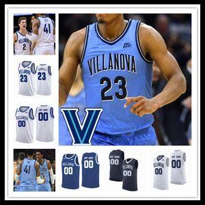 2020 College Basketball Villanova Wildcats Jersey Collin Gillespie Saddiq Bey Robinson-Earl Moore Jermaine Samuels Lowry Swider personnalisé 4XL