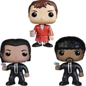 Newsale Funko pop romances vulgares ornamentos feitos à mão modelar boneca jules vega ornamentos boneca de brinquedo # 61 # 62 # 64 PVC modelo bonecas presentes brinquedos
