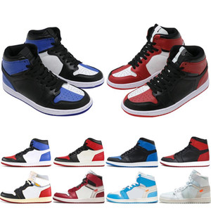 Hot 1 Chaussures de basket-ball Hommes Femmes 1s Recrue de l'année nouvelle cour d'amour pin vert violet passer l'hommage de la torche en haut de la maison 3 Sneakers j1 élevés