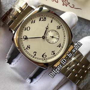 New Historiques American 1921 82035 Caja de acero Dial blanco Autoamtic Reloj para hombre Relojes deportivos de acero inoxidable de alta calidad Hi_Watch VCA44b2
