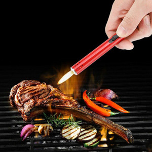 Metal al aire libre de la antorcha más ligero estufa de carbón Barbacoa Cocina de gas más ligero encendedor de cocina pistola encendedor de butano antorcha de soplete cocina
