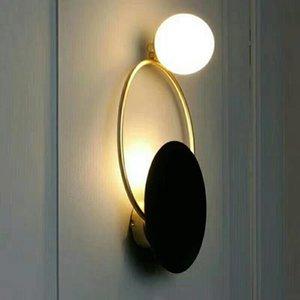 1pc Aplique de exterior, aplique de interior, redondo rectangular, blanco, negro, pintura 10013