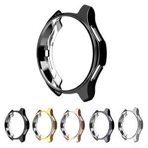 Case 360 grad tpu schutz case abdeckung shell für samsung galaxy watch 42mm sm-r810 46mm getriebe s3 frontier weiche schutzhülle