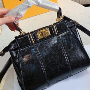 Çantalar Crossbody Çanta Alışveriş Çantası Moda Yüksek Kalite Kadınlar Tek Kolu Tote Gerçek Deri Düz Düğme Ücretsiz Kargo