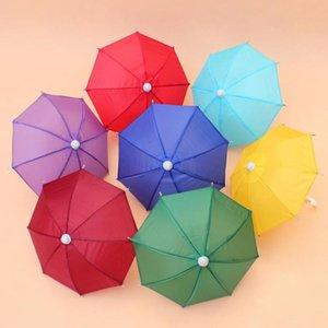 Мини Моделирование Umbrella Для детей Игрушки Cartoon Многие цвета Зонтики декоративные фотографии реквизита Портативный и легкий