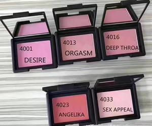 Brand New NA 5 Cores Blush Paleta Bronzer Highlighter Coutour Paletas de maquillage DESEJO ORGASM THROA THREA ANGELIKA SEXO APELO 12 pcs