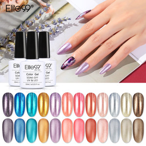 ELITE99 Perle Metallspiegeleffekt Gel Nagel Polnisch Tränken aus Matte Top Mantel UV LED Nagel Primer Top Base Coat Gel Lacke 10ml