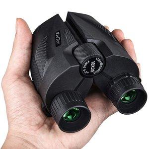 Açık Avcılık Düşük Işık Night Vision, Büyük Göz Parçası Yüksek Güç Su geçirmez Dürbün Kolay Focus 10x25 Kompakt Dürbünler