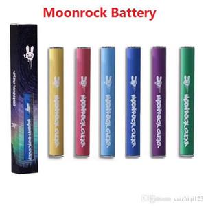 New Moonrock Battery 350mAh Rechargable Vape Pen Cartridges Battery 0.5mm 5 0 Bud Touch Battery LED Light for Moonrock Clear Carts 2