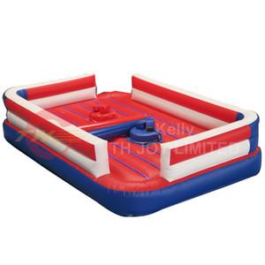 duradero juego de gladiadores justa inflable para la venta inflable carnaval justas Arena juego de lucha libre del envío a la puerta