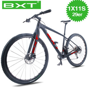 29er MTB barato bicicleta completa 1 * 11 Velocidade Mountain Bike 29 * 2.1 pneu Bicicletas de homens e mulheres de bicicleta grátis Entrega Mountain Bike