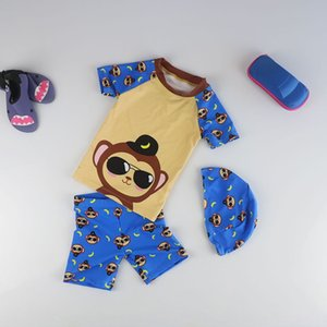 S9ksc Boys' and children's swimsuits babies' paradise seaside pool hot spring warm Warm swimming trunks Swimsuit swimming trunks sun protect