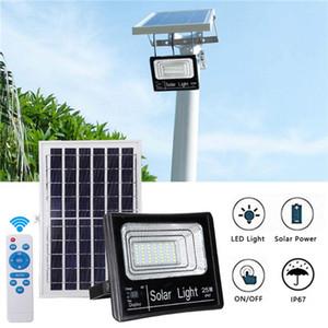 120W Солнечные уличные прожекторы Открытый водонепроницаемый IP67 с пультом дистанционного управления освещением безопасности для двор, сад, Gutter