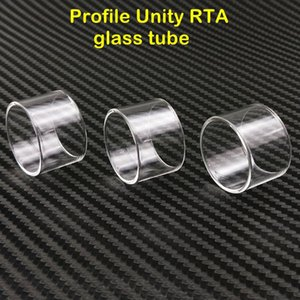 For Wotofo Profile Unity RTA extended Clear Pyrex Glass Tube vape rta atomizer glass tank accessory wholesale price