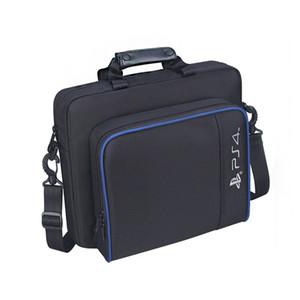 Для PS4 / PS4 Pro Slim Game Sytem Bag оригинальный размер для консоли PlayStation 4 Защитите плечо сумка для переноски сумка холст чехол