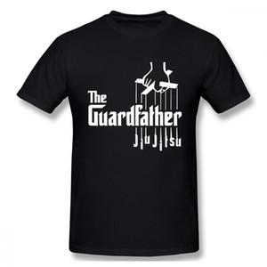 Jiu Jitsu brasileño camiseta diseño de la novedad BJJ Guardfather camiseta para hombre recién llegado de Crewneck Tee