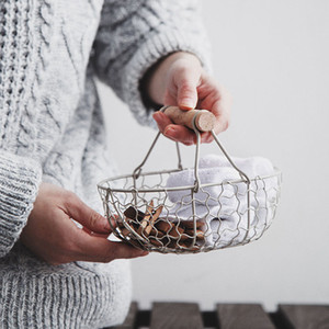 Bamboo Rattan Basket Gift Wicker Fruit Basket Christmas Wicker Bamboo