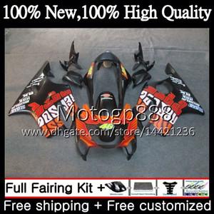 Corps Pour HONDA CBR600F4 Rouge repsol CBR600 F4 99 00 FS 44PG4 CBR 600F4 99 CBR600 FS CBR600FS CBR 600 F4 1999 2000 Nouveau kit de carrosserie