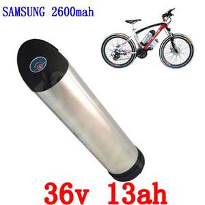 EUA UE Nenhum Imposto 36 36 v Bicicleta Elétrica Da Bateria v 13AH usar samsung 36 v célula de bateria Li-ion 500 w Bateria De Lítio para Ba