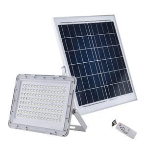 60 Вт 100 Вт 150 Вт светодиодный Солнечный прожектор открытый водонепроницаемый Солнечный сад свет уличный фонарь безопасности аварийный прожектор