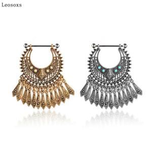 Leosoxs 1piece Hot anel novo mamilo boho retro borla de mamilo anel divertidas perfurado jóias anéis