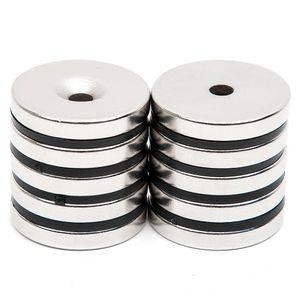 튜브 5mm N52 벌크 슈퍼 강력한 라운드 모양 자석 희토류 강력한 네오디뮴 자석 디스크 미니 29.7x4.7mm