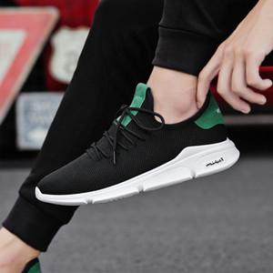 Homem de verão sneaker masculino moda casual ar malha esportes trilha sapatos para homens treinadores antiderrapante luz ao ar livre respirável
