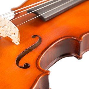 Kunst Stripes Maple Akustische Violine Violino Fiddle Saiteninstrument mit vollen Zusätzen für Anfänger Studenten Violine