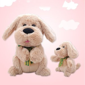 Soft Cuddly Clapping ears clap dog electric singing ear plush toy dog for kids gift for Activity Learning