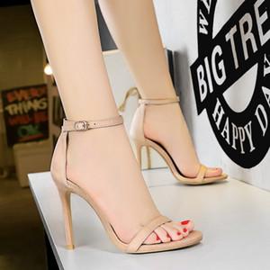 Hochzeit Sandalen 2019 Mode Sandalen Frauen scarpe donna estive Stiletto Schuhe Frau Sandalen Frauen zapatos de mujer chaussures femme sandalet