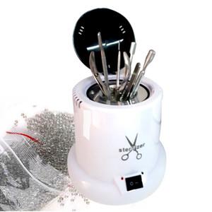 Стерилизатор для ногтей Высокотемпературные Стерилизатор Box Инструменты Дезинфекция Box Nail инструменты Стеклянные шарики для маникюра