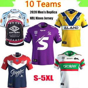 2020 NRL NINS Jersey Cronulla Sutherland Sharks Melbourne Storm South Sydney Rabbitohs Super Rugby League Jersey 2020