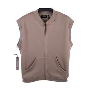 2020 bordado chaqueta ocasional de los hombres 1 de alta calidad de la manera sin mangas de las chaquetas